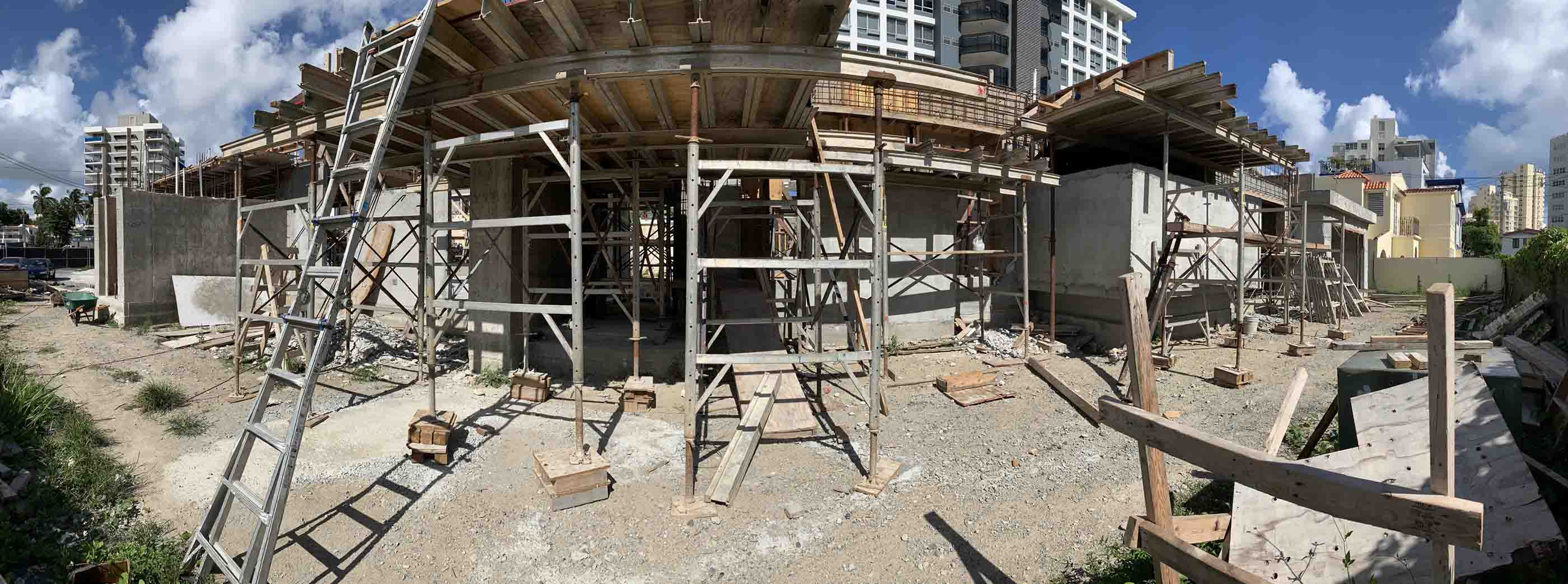 Construction of an AD&V private residence project.
