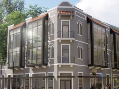 Rendering of the Santurce Office Building project by AD&V.