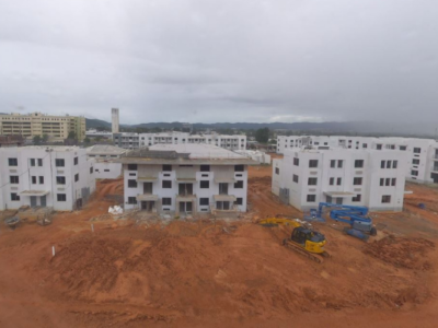 Panoramic view of Caguas Mix-Use & Elderly Housing Construction