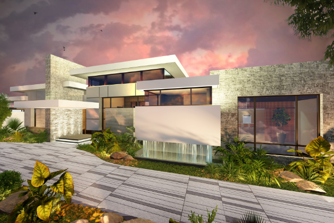 Rendering of the Condado Residence project by AD&V.